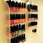 Jessica Gel Nail Polishes beautifully presented in The Spa Therapy Room