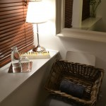 Aromatherapy Associates testers beautifully placed in The Spa Therapy Room treatment room